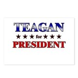 TEAGAN for president Postcards (Package of 8)