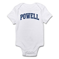 POWELL design (blue) Infant Bodysuit