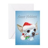 Chihuahua Christmas Greeting Card