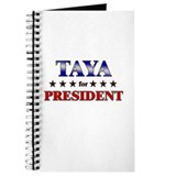 TAYA for president Journal