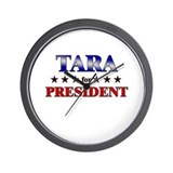 TARA for president Wall Clock