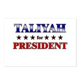 TALIYAH for president Postcards (Package of 8)