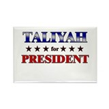 TALIYAH for president Rectangle Magnet