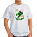 Cajun Easter Bunny Grey T-Shirt