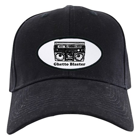 Ghetto Blaster Black Cap