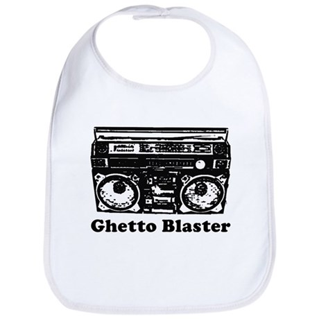 Ghetto Blaster Bib