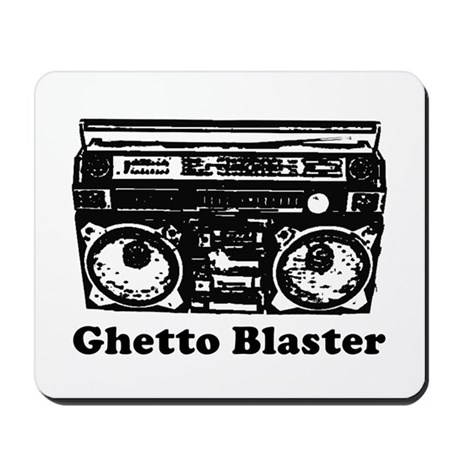 Ghetto Blaster Mousepad