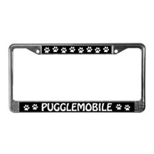 Pugglemobile License Plate Frame