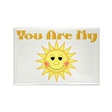You are My Sunshine Rectangle Magnet (10 pack)