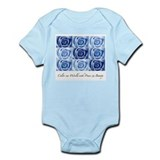 blue roses Infant Bodysuit