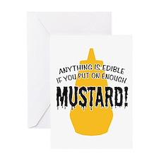 Put on Enough Mustard Greeting Card