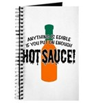Put on Enough Hot Sauce Journal