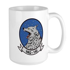 VAQ 142 Gray Wolves Mug