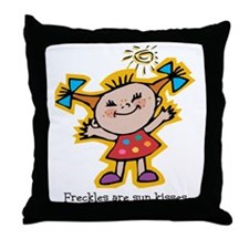 Sun Kisses Throw Pillow