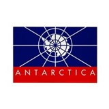 Antarctica Rectangle Magnet