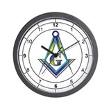 Masonic Ring Wall Clock