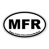 Rogue Valley International-Medford Oval Decal