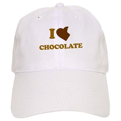 I Love [Heart] Chocolate Cap