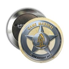 "Cute Marshal badge 2.25"" Button (10 pack)"