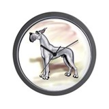 Great Dane Blue Stackin Wall Clock