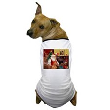 Santa's Vizsla Dog T-Shirt