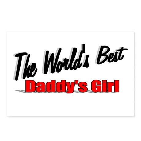 """The World's Best Daddy's Girl"" Postcards (Package"