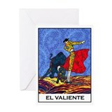 El Valiente Greeting Card