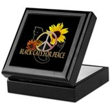 Black Cats for Peace Keepsake Box