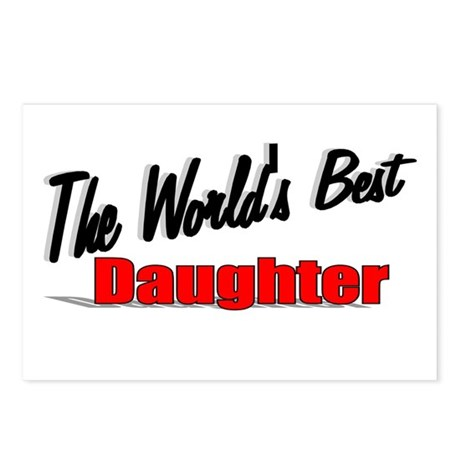 """The World's Best Daughter"" Postcards (Package of"
