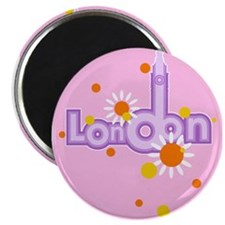 pink london Magnet