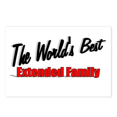 """The World's Best Extended Family"" Postcards (Pack"