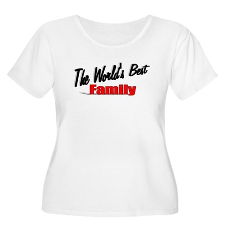 """The World's Best Family"" Women's Plus Size Scoop"