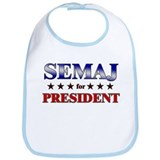SEMAJ for president Bib