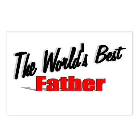 """The World's Best Father"" Postcards (Package of 8)"