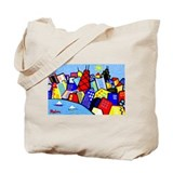 Tote Bag<BR>TWO CHICAGO VIEWS
