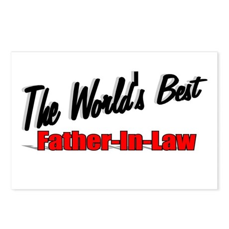 """The World's Best Father-In-Law"" Postcards (Packag"