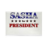 SASHA for president Rectangle Magnet