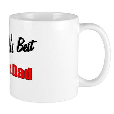 """The World's Best Foster Dad"" Mug"