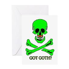 Got Goth Greeting Card