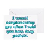 Dental Hygienist Presents Greeting Cards (Pk of 20