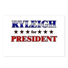 RYLEIGH for president Postcards (Package of 8)