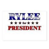 RYLEE for president Postcards (Package of 8)