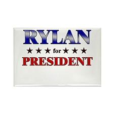 RYLAN for president Rectangle Magnet