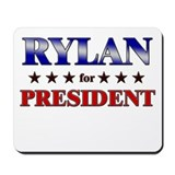 RYLAN for president Mousepad