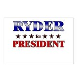 RYDER for president Postcards (Package of 8)