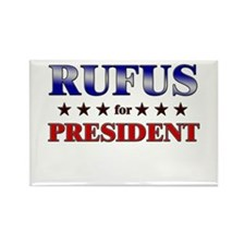 RUFUS for president Rectangle Magnet (10 pack)