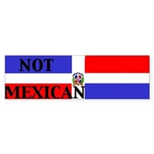 dominican republic Bumper Bumper Sticker