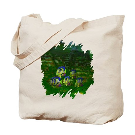Angel Fish Tote Bag