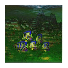Angel Fish Tile Coaster