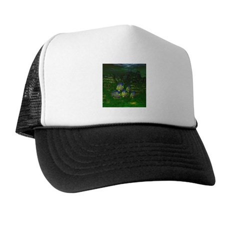 Angel Fish Trucker Hat